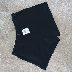 NEW black Calvin Klein shorts size XS